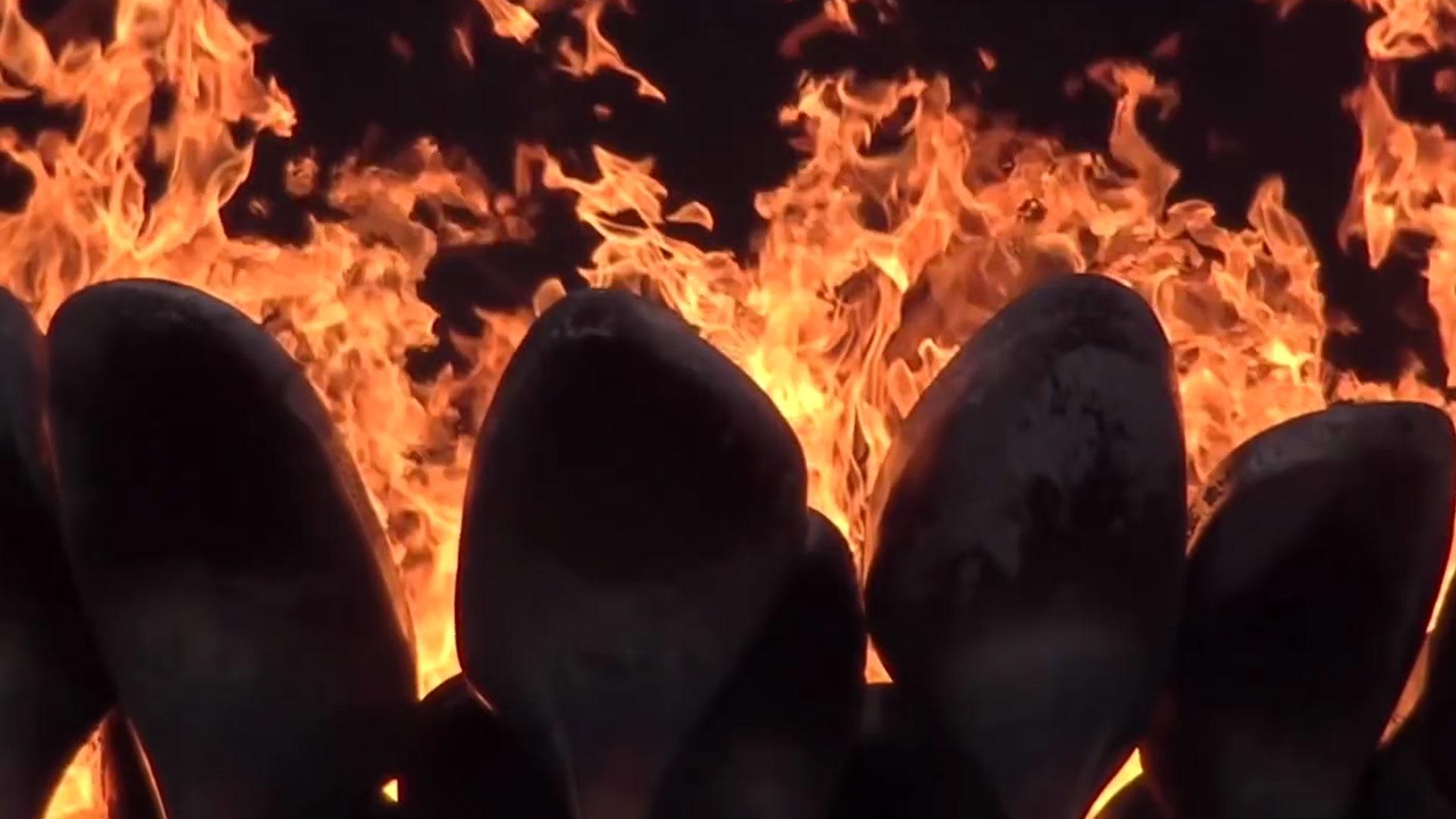fire flame heat fireplace