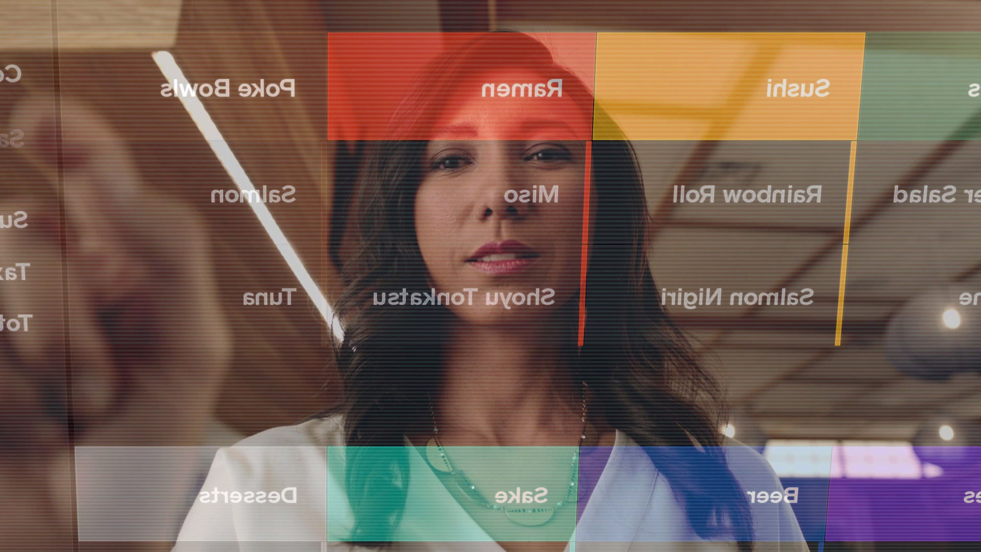 text screenshot human face person poster woman art