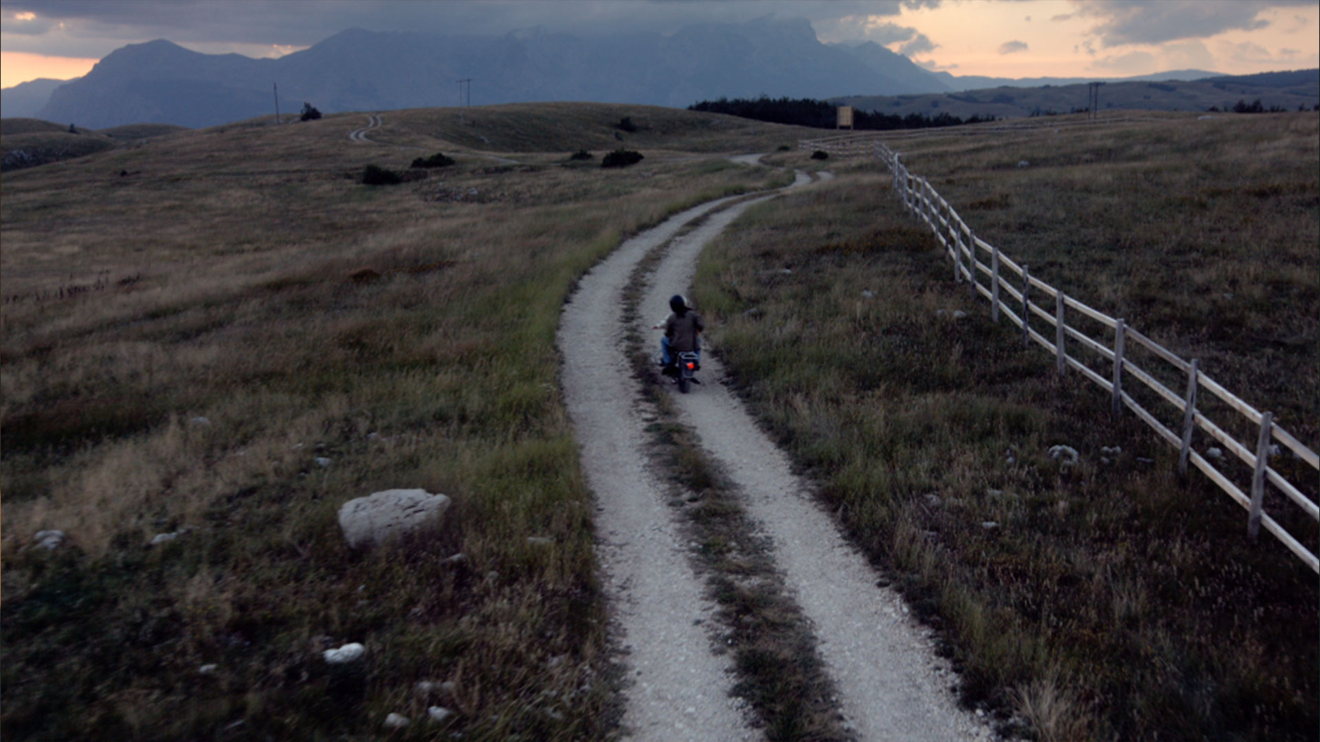 grass sky outdoor hiking mountain bicycle dirt highland
