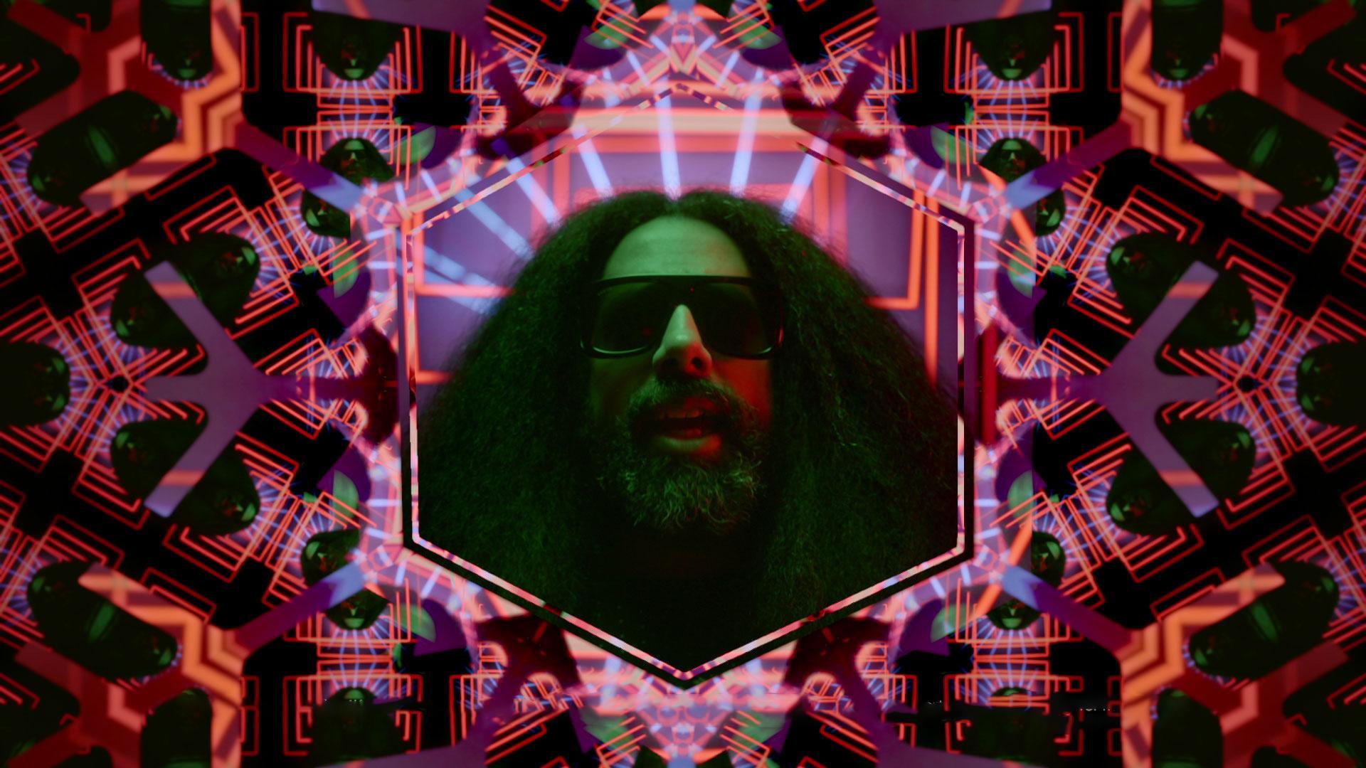 human face screenshot person text man glasses poster cartoon colorful