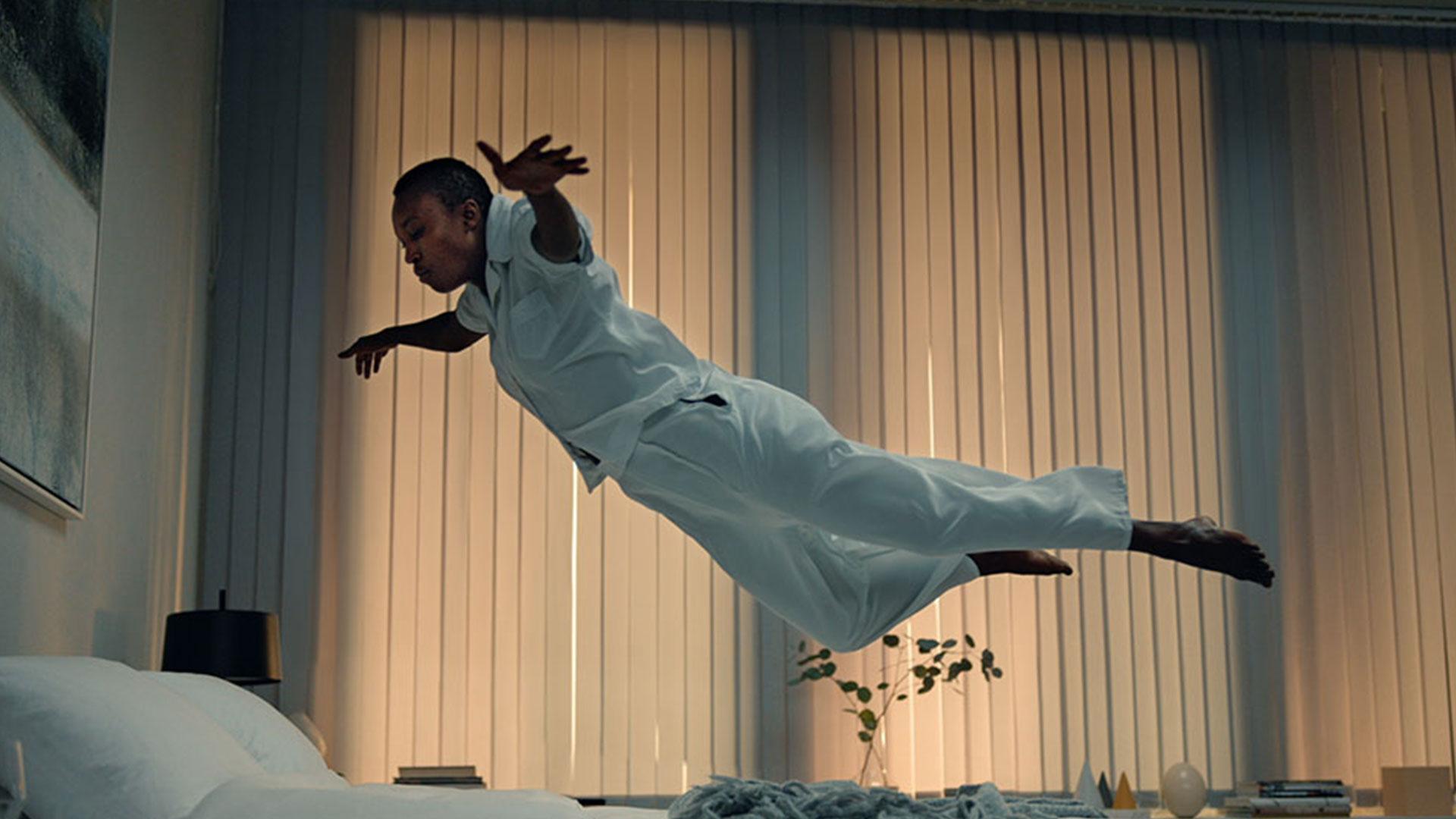 wall dance person air