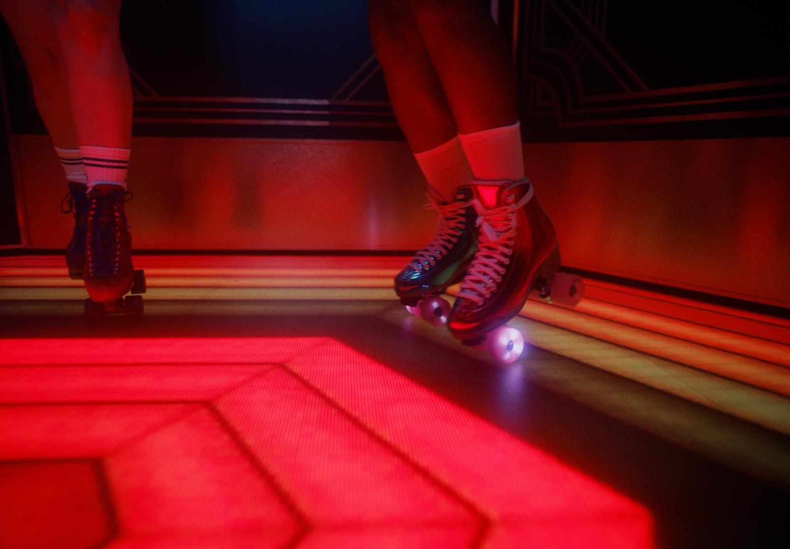 footwear indoor table dance high heels red sock sandal shoe carmine ankle